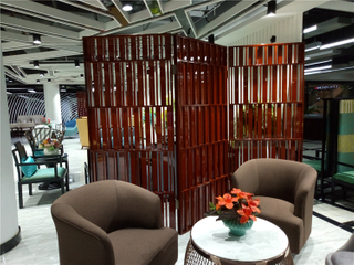 Hotel wood partition screens with high quality