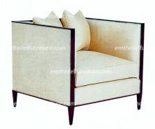 Durable And Comfortable Sitting Lounge Living Room Furniture High Sofa Chair Design For Hotel