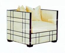 Lobby Sofa Set Custom Hotel Furniture For 5 Star Hotel