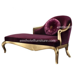 Lounge Chair Manufacturer From China Wood Sofa Chaise Hotel Furniture Contractor