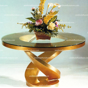 Hotel Lobby Furniture Flower Desk Decoration Table Furniture Row