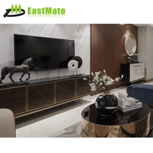 Design wooden wall console table living room TV cabinet with drawers