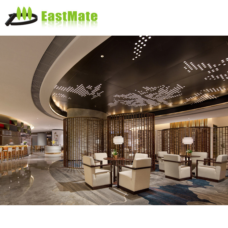 Custom made living room furniture hotel hall sofa sets for hotel lobby