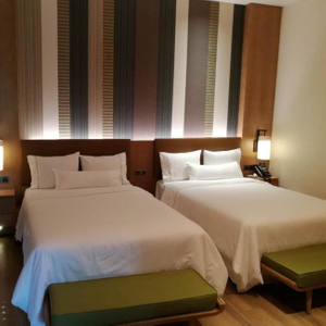 Newest Hotel Double Bed Furniture China Hotel Project Contractor