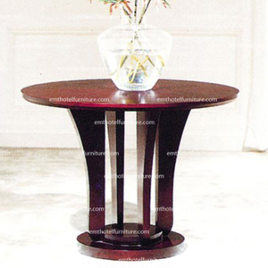 Best Price Hotel Furniture Custom Made Wooden Lobby Furniture Flower Desk Hospitality Design