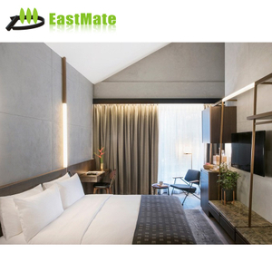 High quality 5 star design hotel bedroom king size bedroom plywood laminate furniture