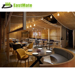 Foshan furniture restaurant wood tables with low price