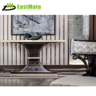 High class hotel wood furniture Luxury console table
