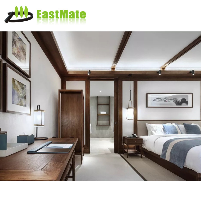 Modern old style bedroom furniture, Room design for hotel use